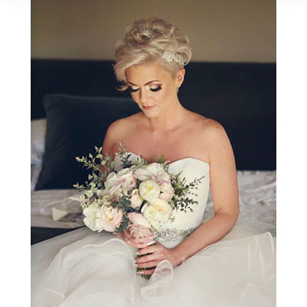 Cute-Pixie-for-Wedding Wedding Hairstyles for Short Hair 2019