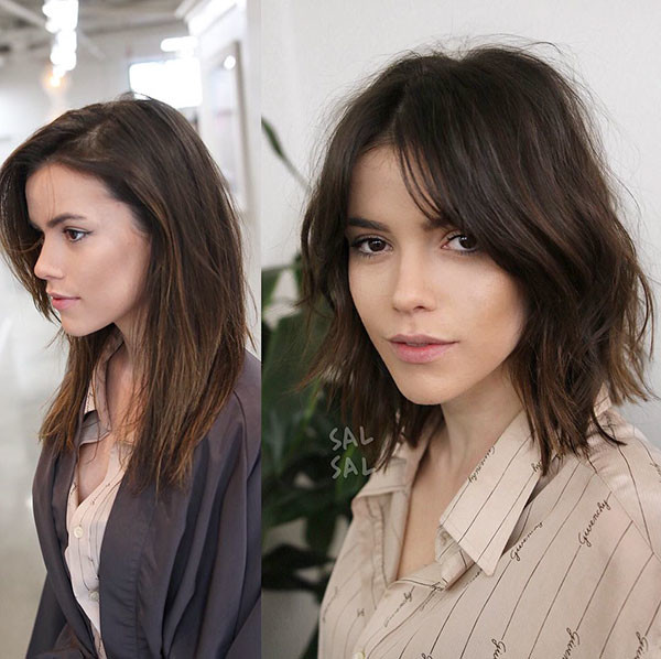 Cute-and-Simple-Short-Hairstyle New Cute Short Hairstyles