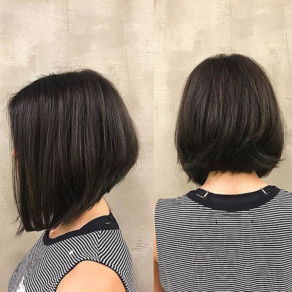 Dark-Ash-Brown-Hair New Best Short Haircuts for Women