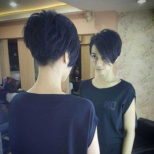Dark-Brown-Hair-1 Pixie Bob Haircuts for Neat Look