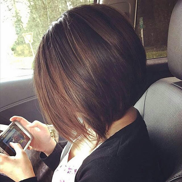 Dark-Brown-Hair New Best Short Haircuts for Women
