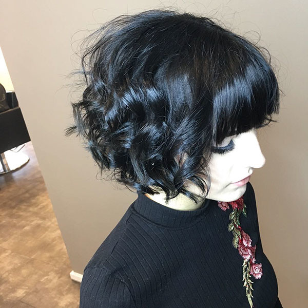Fine-Curly-Hair Best Short Curly Hair Ideas in 2019
