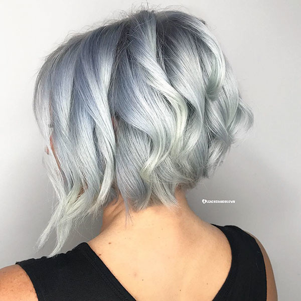 Graduated-Cut New Best Short Haircuts for Women