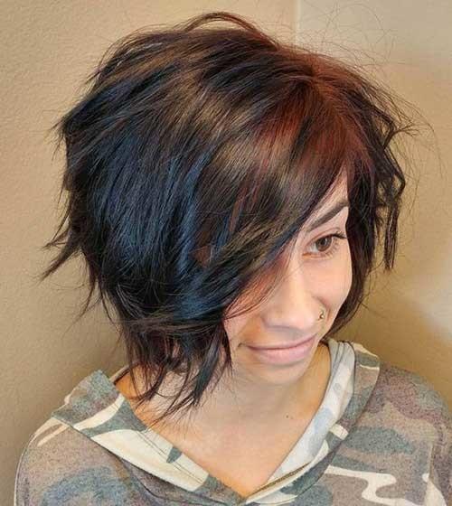 Graduation-Layered-Bob-Style Amazing Graduated Bob Haircuts for Modern Ladies