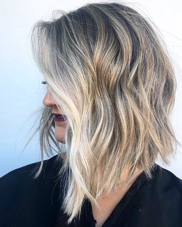 Inverted-Long-Bob-1 New Short Blonde Hairstyles