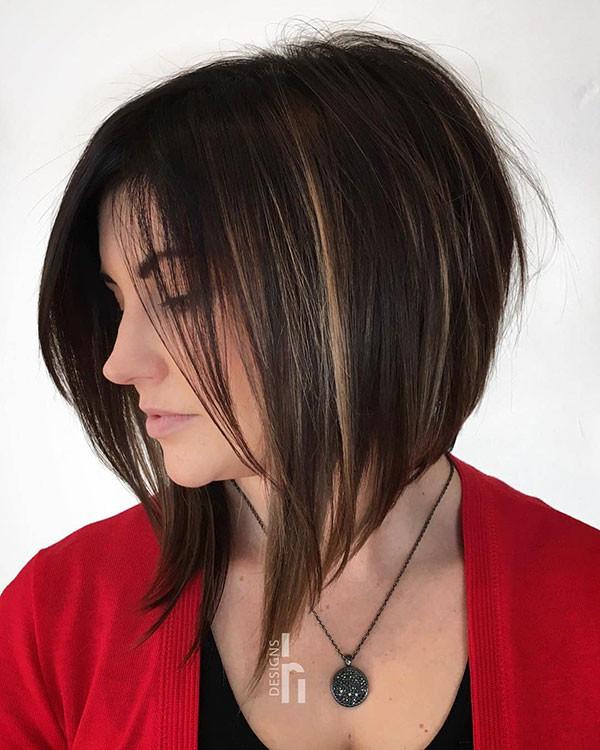 Layered-Inverted-Bob-Hair Popular Bob Hairstyles 2019