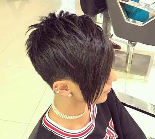 Layered-Long-Bangs-1 Stylish Pixie Haircuts Every Women Should See