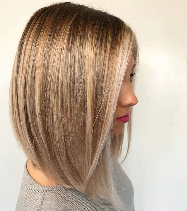 Lob-for-Fine-Hair Popular Short Hairstyles for Fine Hair