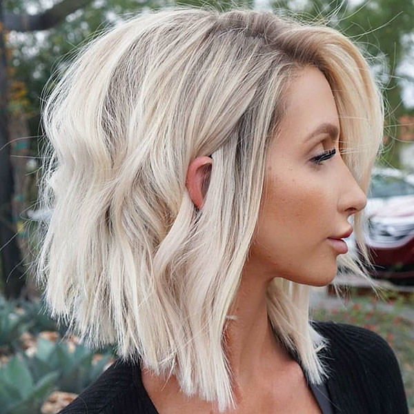 Long-Bob-Haircut New Cute Short Hairstyles
