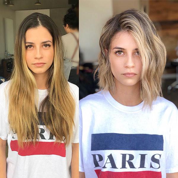 Long-Bob Beautiful Short Hair for Girls