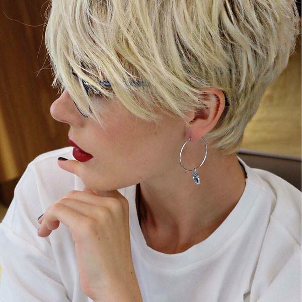 Long-Pixie-Hair New Short Blonde Hairstyles