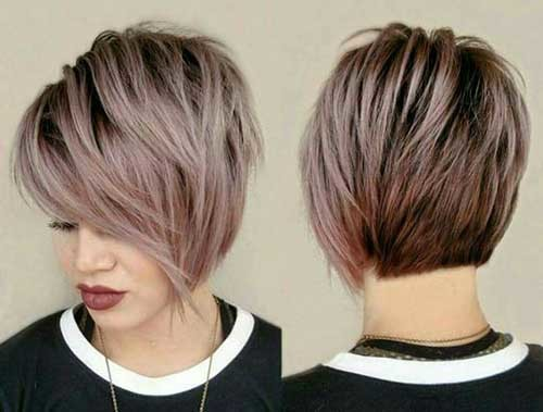 Modern-Cut Brilliant Short Straight Hairstyles