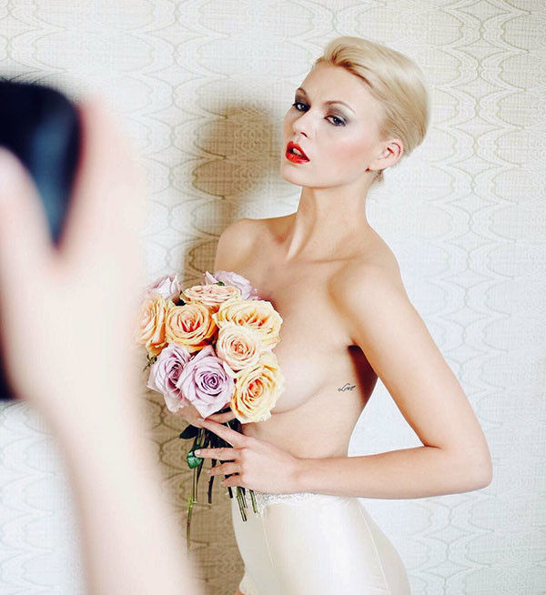 Modern-Look-Pixie-Style Wedding Hairstyles for Short Hair 2019