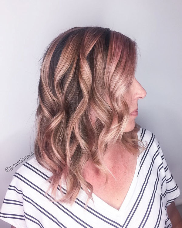 Pink-Blonde New Best Short Haircuts for Women