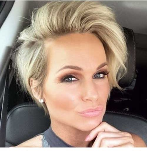 Pixie-Bob-Style Chic Short Haircuts for Women Over 50