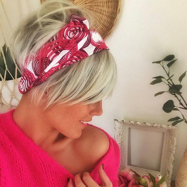Pixie-Hair-with-Headband New Cute Short Hairstyles