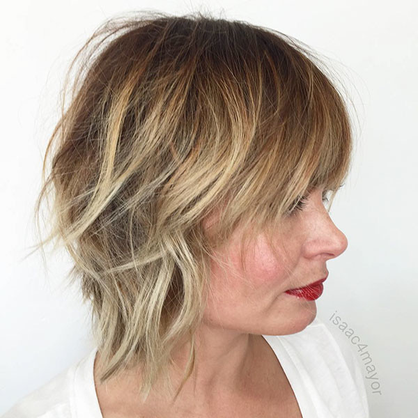 Shaggy-Hair-Style New Best Short Haircuts for Women