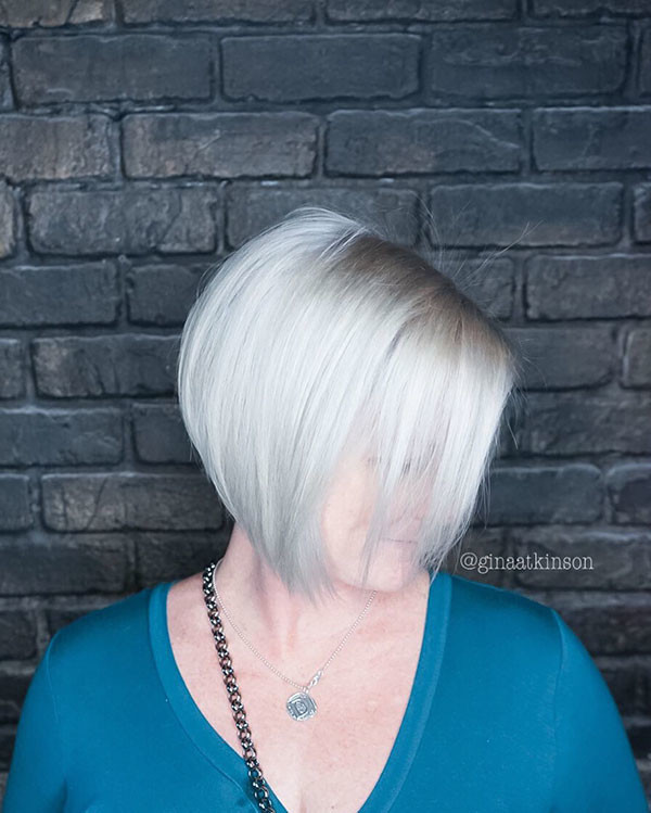 Short-Fine-Bob-Haircut Popular Short Hairstyles for Fine Hair