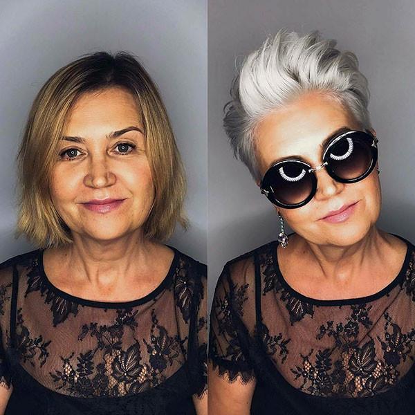 Short-Hair-Style-for-Older-Women Best Short Hairstyles for Older Women in 2019