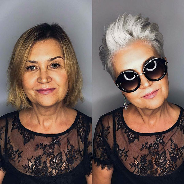 Short-Hair-Style-for-Older-Women Best Short Hairstyles for Older Women in 2019