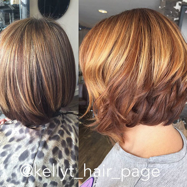 Short-Layered-Bob-Style New Best Short Haircuts for Women