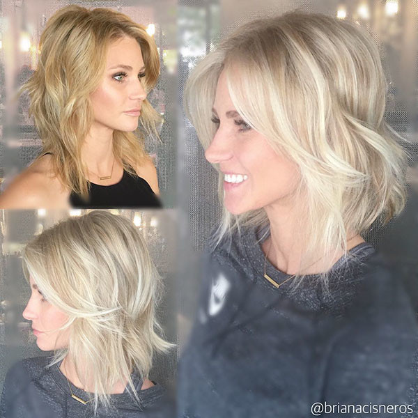 Short-Wavy-Blonde-Hair-Color New Short Blonde Hairstyles