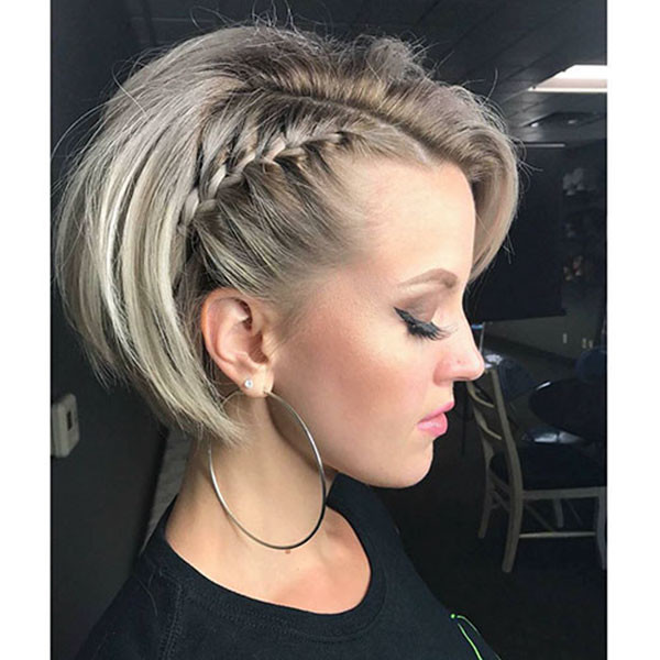 Side-Braid Amazing Braids for Short Hair