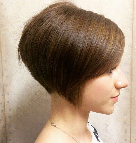 Simple-Short-Hair Short Bob Haircuts for Women