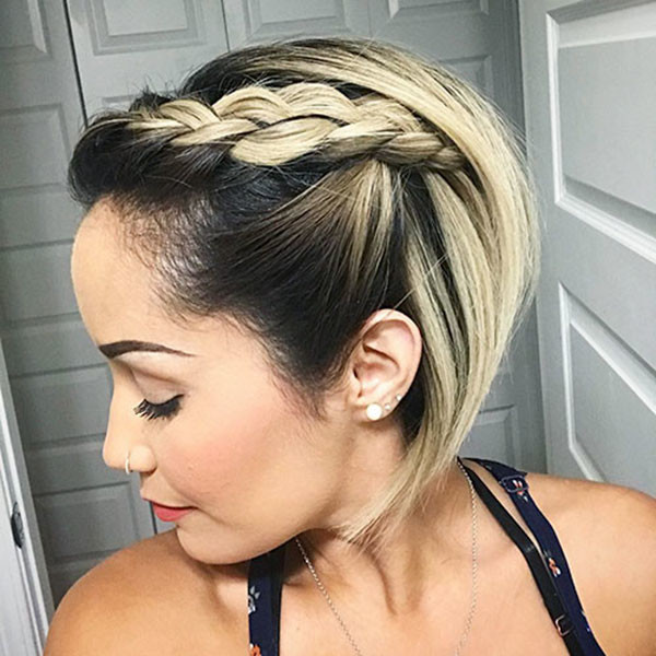 Simple-Style Amazing Braids for Short Hair