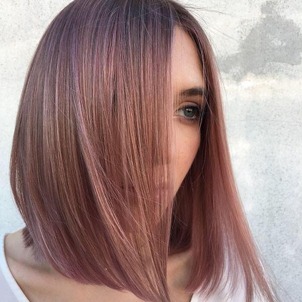 Straight-Hair-Bob Popular Bob Hairstyles 2019
