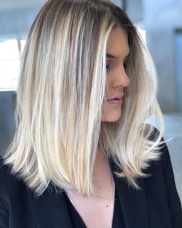 Straight-Short-Thin-Hair New Short Blonde Hairstyles