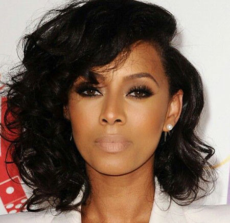Thick-Long-Bob Keri Hilson Short Hairstyles