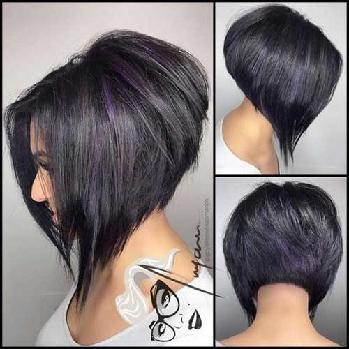 Voluminous-Look Amazing Graduated Bob Haircuts for Modern Ladies