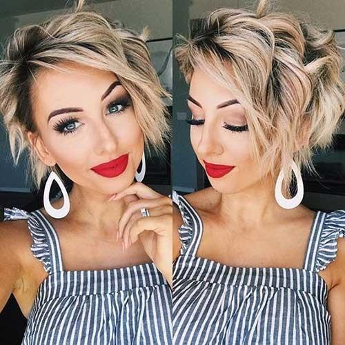 Wavy-Hair-2 New Short Haircut Trends Women 2019