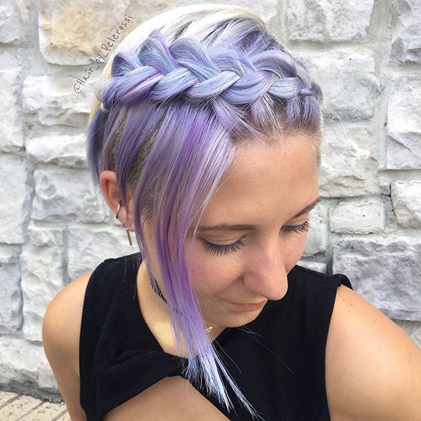 formal-Hairstyle Amazing Braids for Short Hair