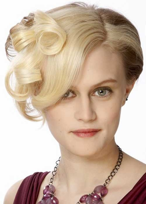 formal-occasion-hairstyles Short Haircuts for Wavy Hair