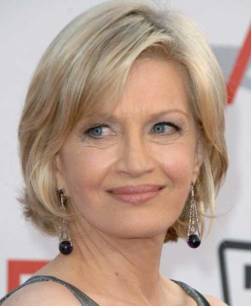 14.Short-Hair-Women-Over-50 Best Short Hair For Women Over 50