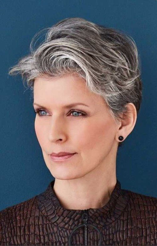 19-pixie-hairstyles-for-older-women Beautiful Pixie Cuts for Older Women 2019