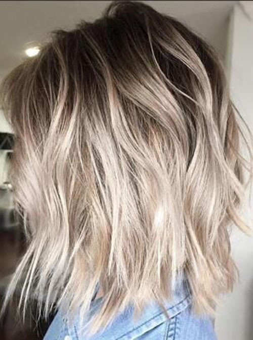 Beautiful Brown To Blonde Ombre Short Hair The Undercut