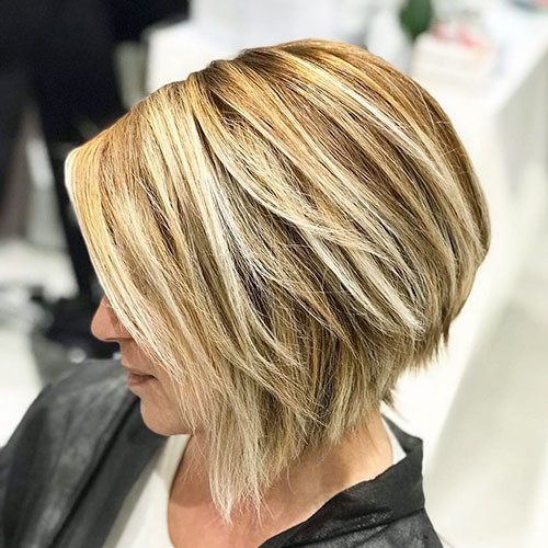 24-brown-bob-with-blonde-highlights Famous Blonde Bob Hair Ideas in 2019