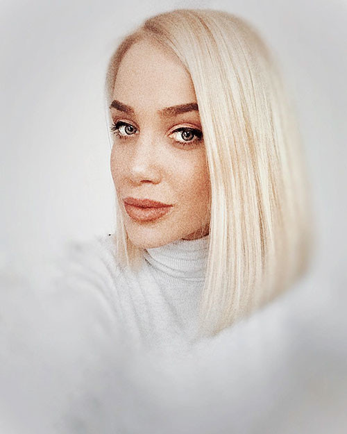 28-blonde-long-bob Famous Blonde Bob Hair Ideas in 2019