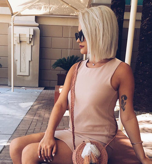 29-blonde-bob Famous Blonde Bob Hair Ideas in 2019