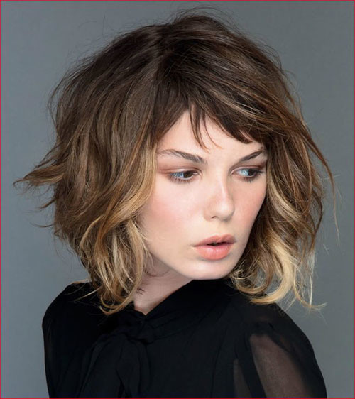 31-short-layered-bob-haircuts-with-bangs Best Short Layered Bob With Bangs