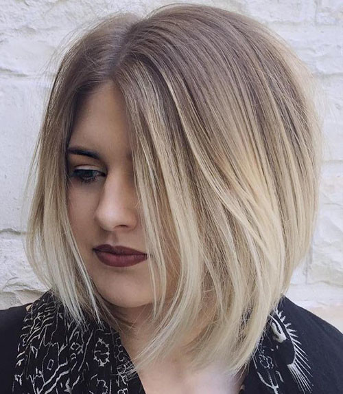 33-brown-and-blonde-balayage-short-hair Beautiful Brown to Blonde Ombre Short Hair