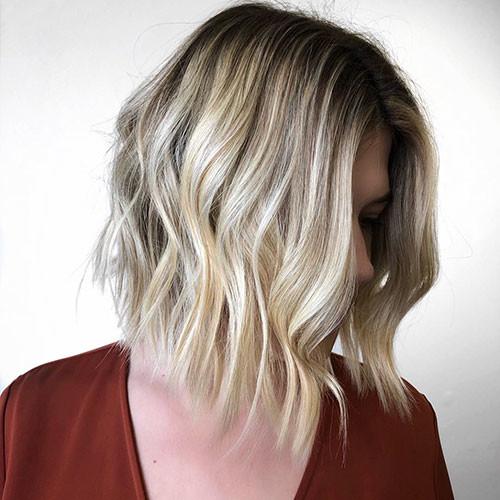 38-blonde-highlights-bob Famous Blonde Bob Hair Ideas in 2019