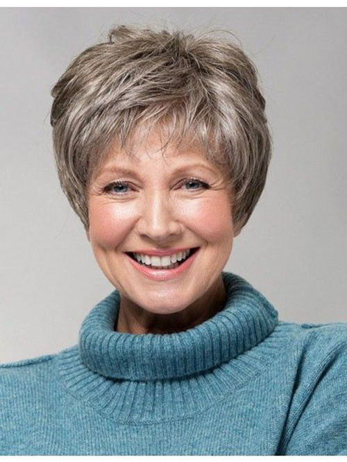 40-pixie-hair-cut-for-older-women Beautiful Pixie Cuts for Older Women 2019