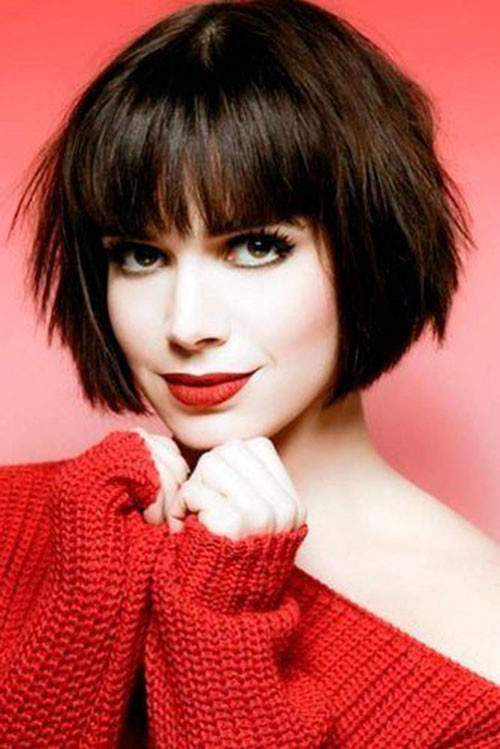 53-short-layered-bob-with-bangs Best Short Layered Bob With Bangs