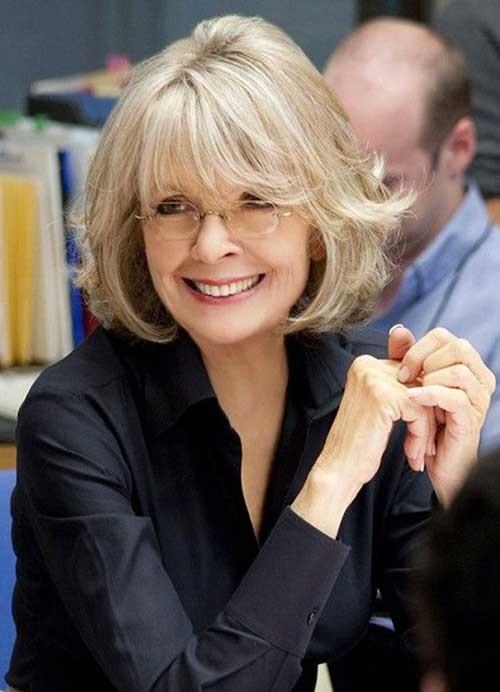 8.Short-Hair-Women-Over-50 Best Short Hair For Women Over 50