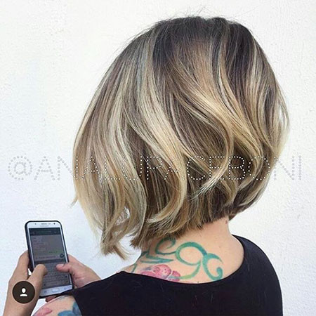 Back-View New Bob Hairstyles 2019