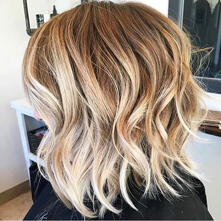 Balayage-Short-Hair New Bob Hairstyles 2019